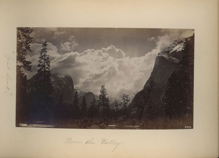 [Yosemite Valley] Photographs of Yosemite Valley and the Mariposa Big Tree Grove [title supplied]. GEORGE FISKE.