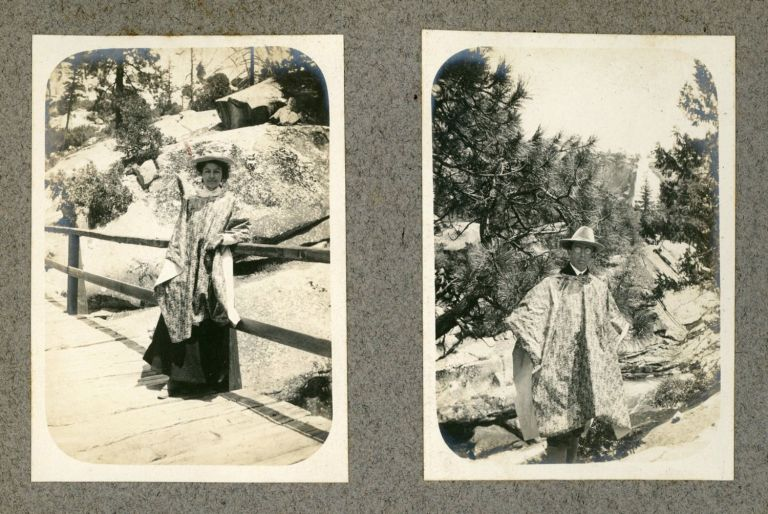 [Yosemite Valley; Northern and Central High Sierra; Mountains of Northern California and Oregon] Large collection of photographs of Yosemite, the High Sierra, and elsewhere in California and Oregon in five albums dated from 1903 to 1927. ANONYMOUS PHOTOGRAPHER.
