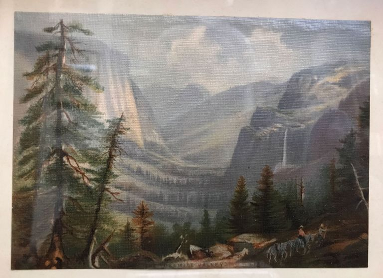 Yosemite Valley. ANONYMOUS ARTIST.