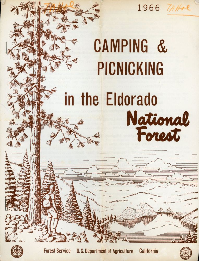 Camping & picnicking in the Eldorado National Forest Forest Service U.S. Department of Agriculture California [cover title]. UNITED STATES. DEPARTMENT OF AGRICULTURE. FOREST SERVICE. CALIFORNIA DISTRICT.