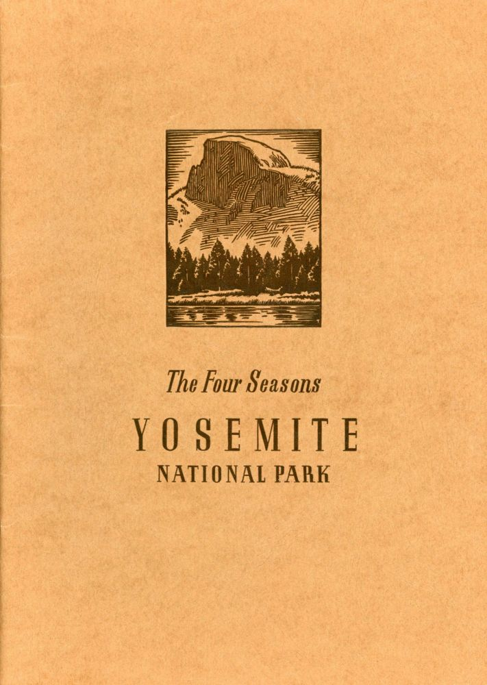 The four seasons in Yosemite National Park. A photographic story of Yosemite's spectacular scenery. Photographed by Ansel Adams. Edited by Stanley Plumb. ANSEL EASTON ADAMS.