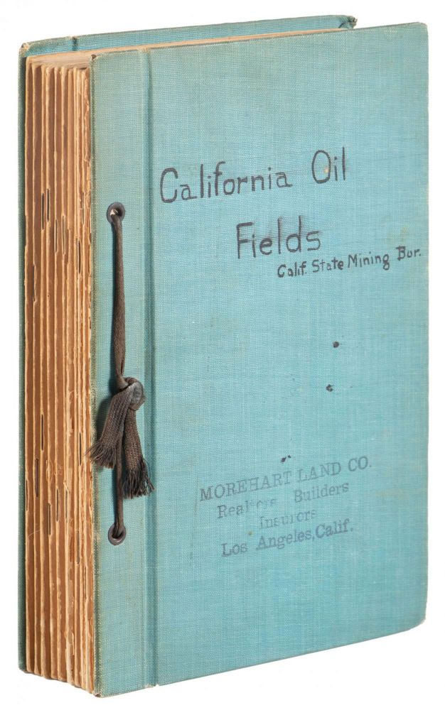 SUMMARY OF OPERATIONS CALIFORNIA OIL FIELDS MONTHLY CHAPTER. FIFTH [and SIXTH] ANNUAL REPORT OF THE STATE OIL AND GAS SUPERVISOR ISSUED BY CALIFORNIA STATE MINING BUREAU. California Oil Fields, State Oil California State Mining Bureau, Gas Supervisor.