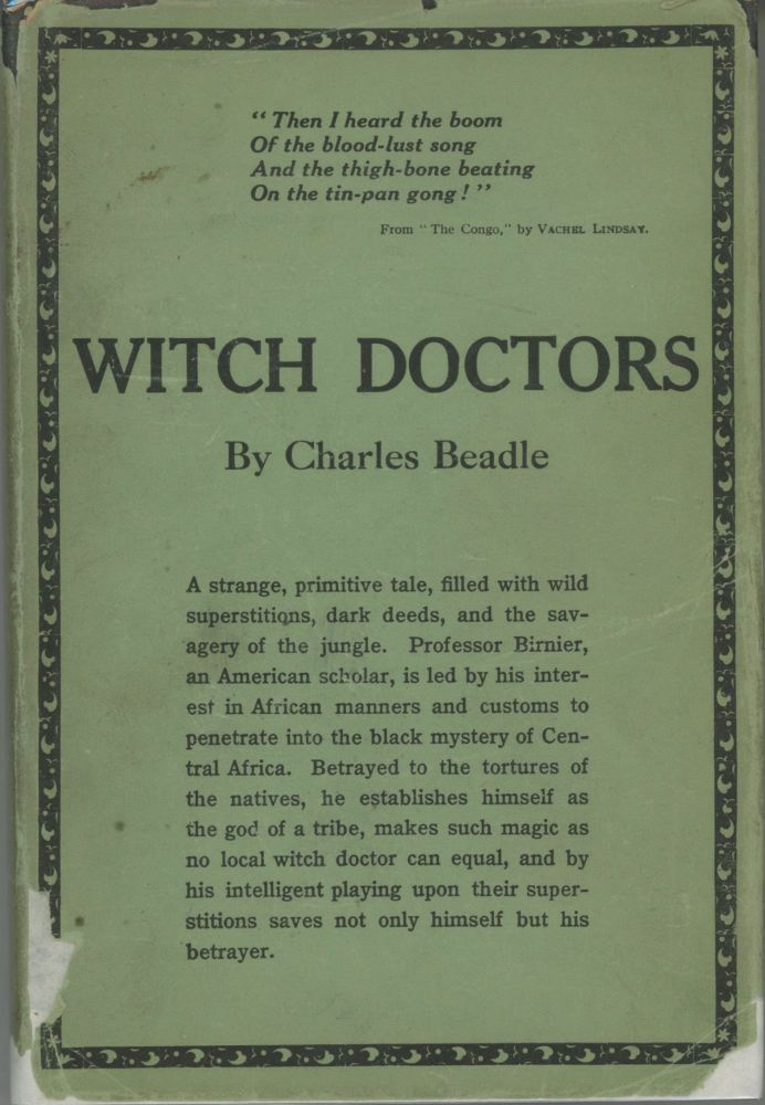 WITCH-DOCTORS. Charles Beadle.