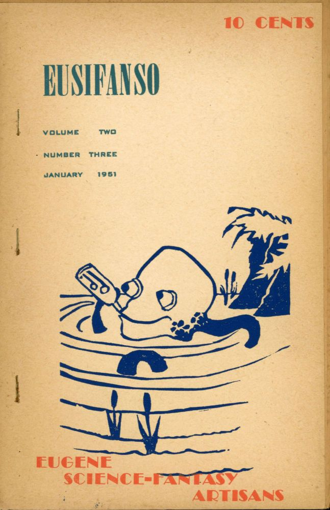 EUSIFANSO. January 1951 ., Norman Hartman Rosco Wright, Ed Zimmerman, number 3 [whole number 8 volume 2.