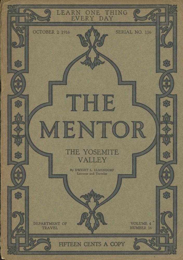THE. October 2 MENTOR, 1916 ., W. D. Moffat, number 16 volume 4, whole number 116.