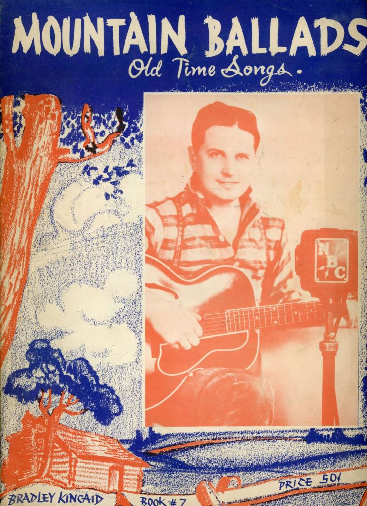 MOUNTAIN BALLADS OLD TIME SONGS .. BOOK # 7 ... [cover title]. Music, Popular Music, 1930s.