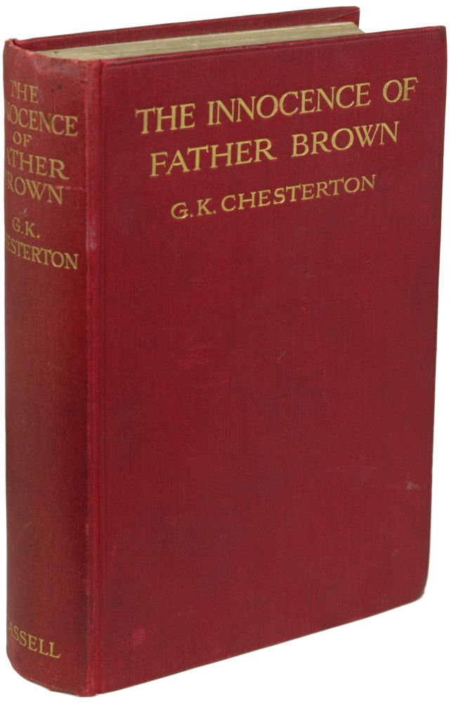 THE INNOCENCE OF FATHER BROWN. Chesterton.