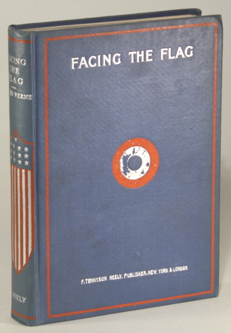 FACING THE FLAG. Jules Verne.