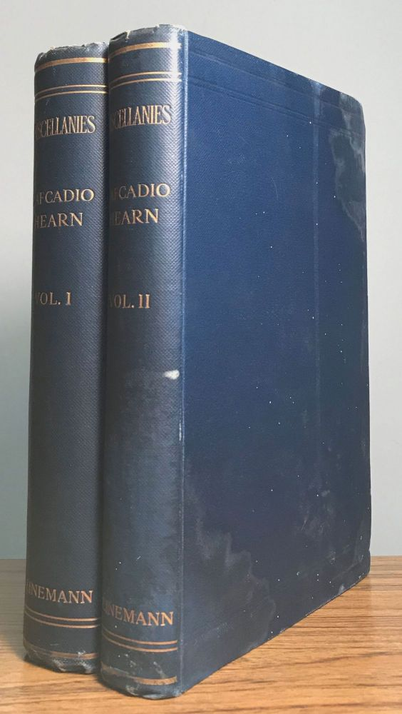MISCELLANIES ... ARTICLES AND STORIES Now First Collected by Albert Mordell. Lafcadio Hearn.