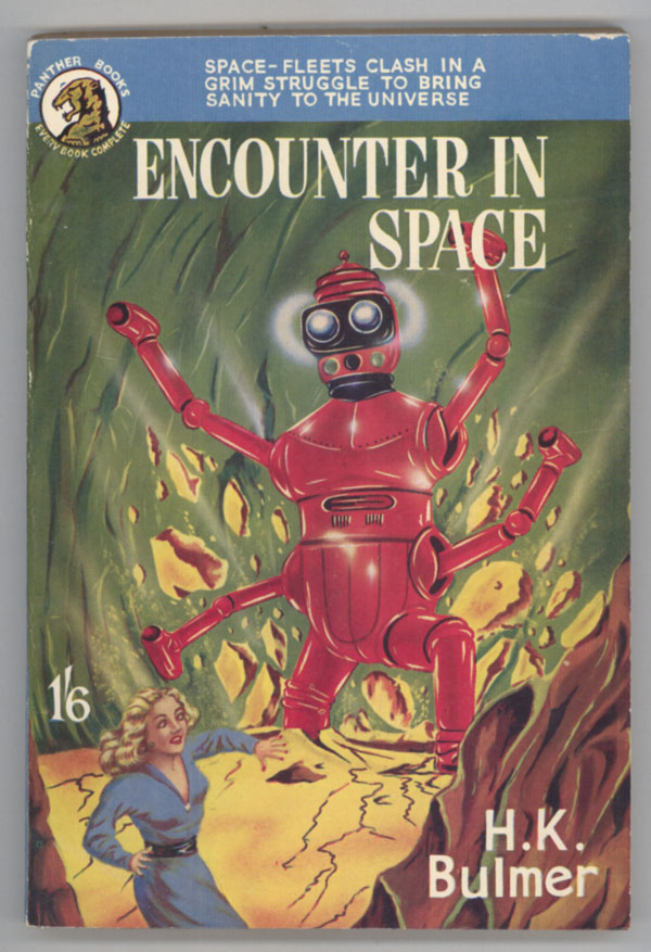 ENCOUNTER IN SPACE. Kenneth Bulmer.