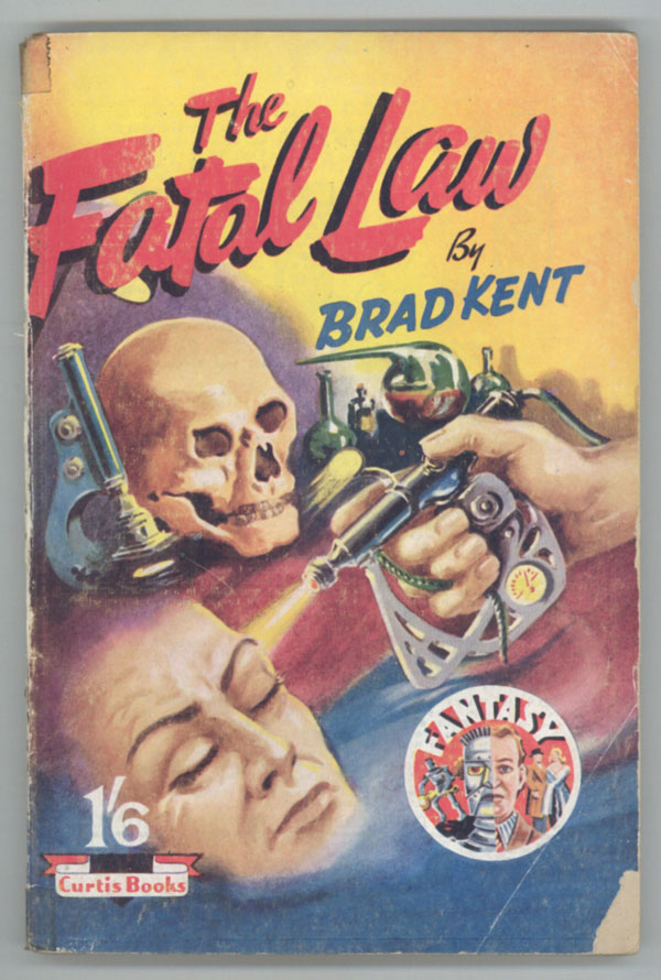 THE FATAL LAW. here house pseudonym, Dennis Talbot Hughes.