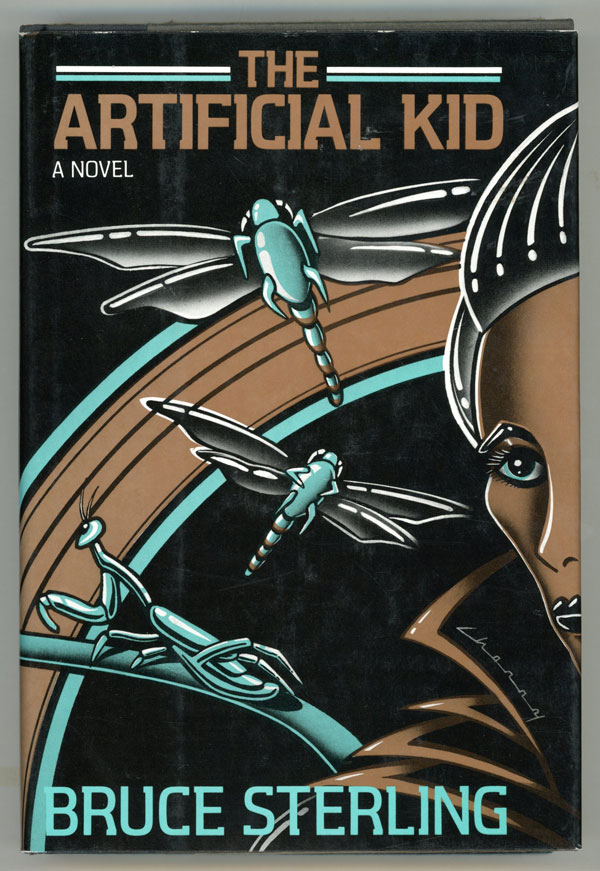 The Artificial Kid Bruce Sterling First Edition