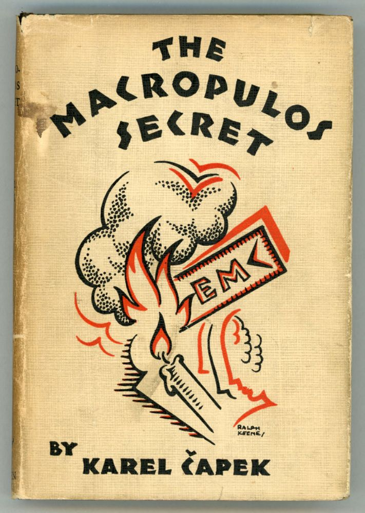 THE MACROPULOS SECRET: A COMEDY ... Authorized English Translation by Paul Selver. Karel Capek.