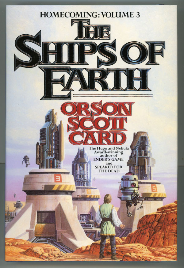 THE SHIPS OF EARTH. Orson Scott Card.