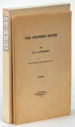 THE SHUNNED HOUSE. Lovecraft.