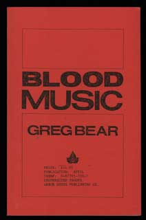 BLOOD MUSIC. Greg Bear