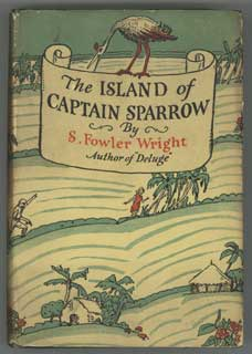 THE ISLAND OF CAPTAIN SPARROW. Wright, Fowler