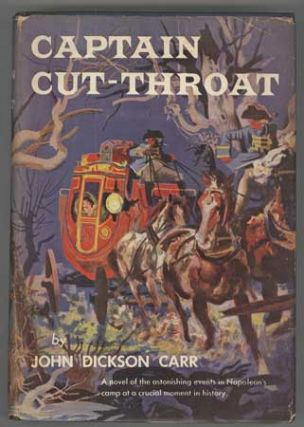 CAPTAIN CUT-THROAT. John Dickson Carr