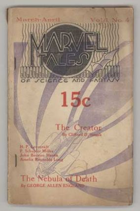 MARVEL TALES. March - April 1935 ., William L. Crawford, number 4 volume 1