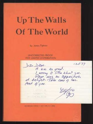 UP THE WALLS OF THE WORLD. James Tiptree, Jr, Alice Sheldon