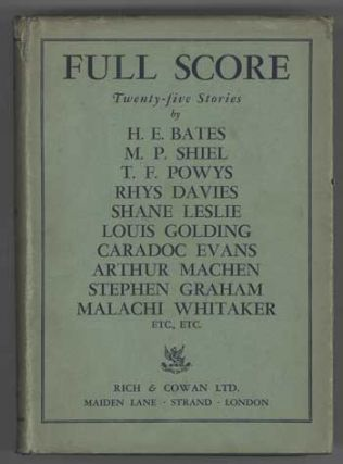 FULL SCORE: TWENTY FIVE STORIES ... Selected by Fytton Armstrong. Terence Ian Fytton Armstrong