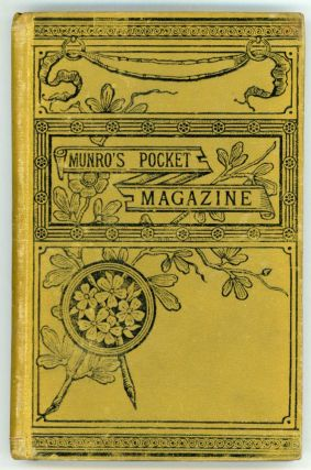 1884 MUNRO'S POCKET MAGAZINE. November 15, number 1 volume 1