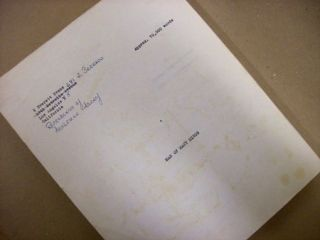 MAN OF MANY MINDS [novel]. TYPED MANUSCRIPT (TMs), setting copy, with some handwritten...