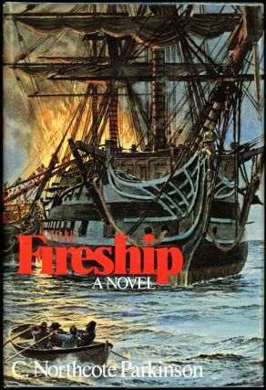 THE FIRESHIP. Parkinson, Northcote.