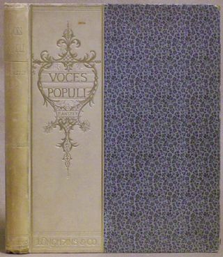 "VOCES POPULI [REPRINTED FROM ""PUNCH""] ... SECOND SERIES. F. Anstey, Thomas Anstey Guthrie."