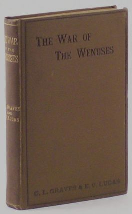 THE WAR OF THE WENUSES. Translated from the Artesian of H. G. Pozzuoli ...