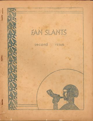 FAN SLANTS. February 1944 ., Mel Brown, number 2 volume 1