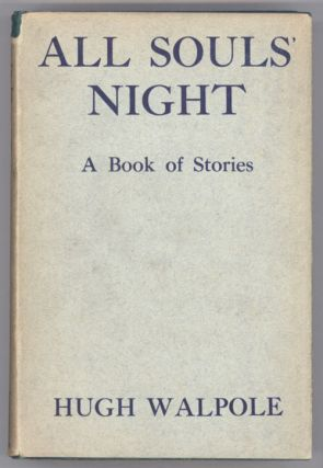 ALL SOULS' NIGHT: A BOOK OF STORIES.