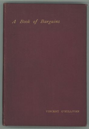 A BOOK OF BARGAINS ...