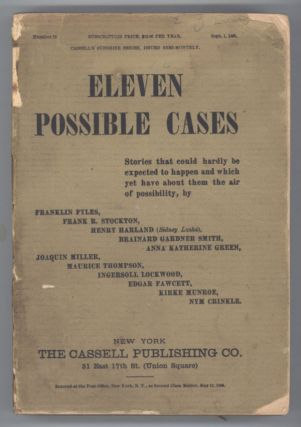 ELEVEN POSSIBLE CASES. Anonymously Edited Anthology