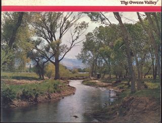 The Owens Valley [cover title]. LOS ANGELES. DEPARTMENT OF WATER AND POWER
