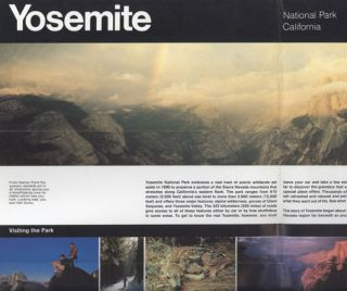 Yosemite National Park, California ... [caption title]. UNITED STATES. DEPARTMENT OF THE...