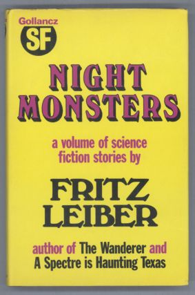 NIGHT MONSTERS. Fritz Leiber