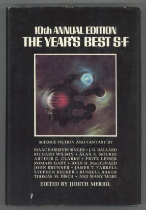 THE 10TH ANNUAL EDITION OF THE YEAR'S BEST SF. Judith Merril
