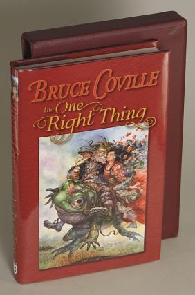 THE ONE RIGHT THING ... Edited by Deb Geisler. Bruce Coville