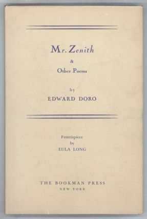 MR. ZENITH & OTHER POEMS. Edward Doro