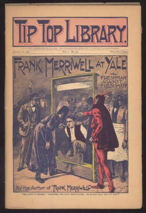 """Frank Merriwell at Yale; or, Freshman Against Freshman"" in TIP TOP LIBRARY. TIP TOP LIBRARY,..."