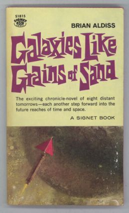 GALAXIES LIKE GRAINS OF SAND. Brian Aldiss.