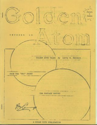 GOLDEN ATOM. October 1939 ., Larry B. Farsace, number 1 volume 1