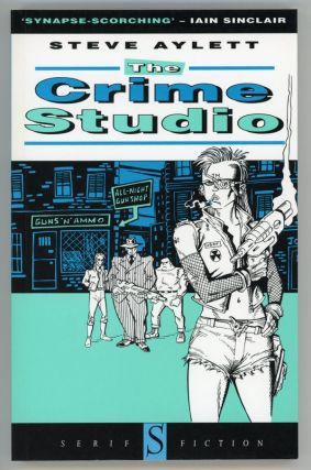 THE CRIME STUDIO. Steve Aylett
