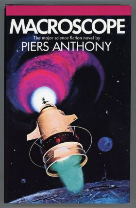 MACROSCOPE. Piers Anthony, Piers Anthony Dillingham Jacob