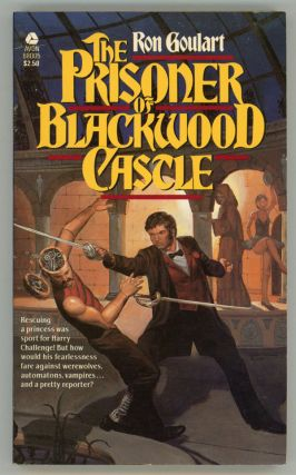 THE PRISONER OF BLACKWOOD CASTLE. Ron Goulart.