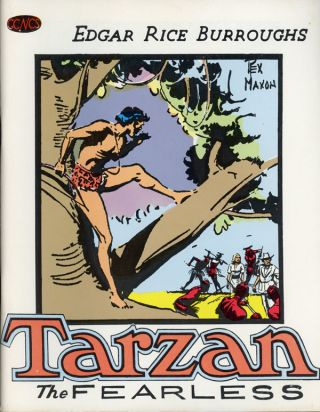 TARZAN THE FEARLESS. Edgar Rice Burroughs, Rex Maxon