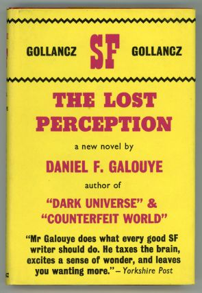 THE LOST PERCEPTION. Daniel Galouye