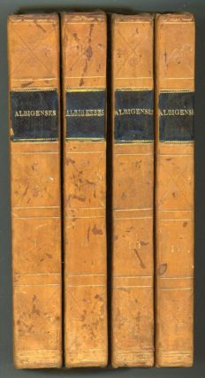 "THE ALBIGENSES, A ROMANCE. By the Author of ""Bertram,"" A Tragedy: ""Woman; or, Pour et Contre,"" &c. ... In Four Volumes ..."