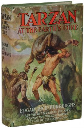 TARZAN AT THE EARTH'S CORE. Edgar Rice Burroughs